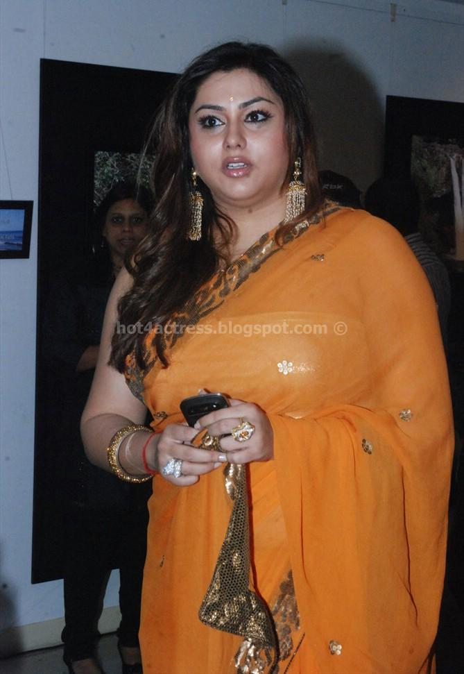 Hot Namitha Actress Saree Pics