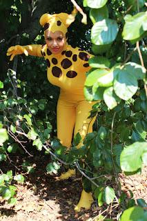 Cheetah cosplay