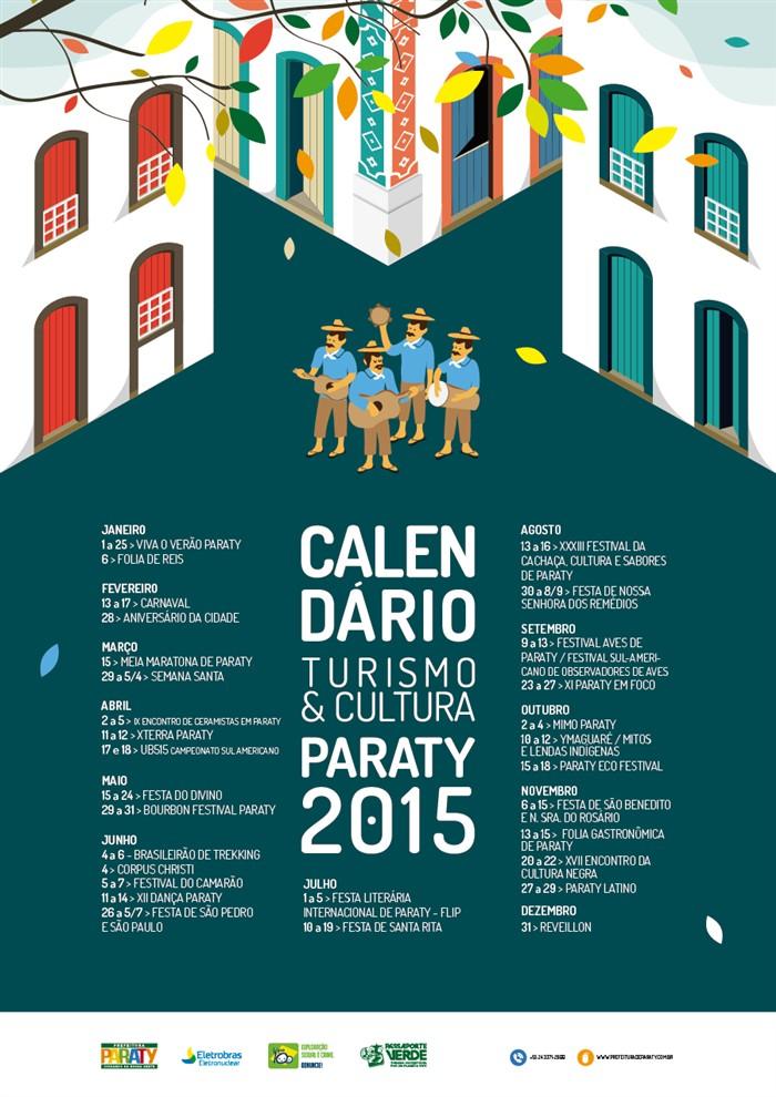 Calendário de Eventos - Paraty