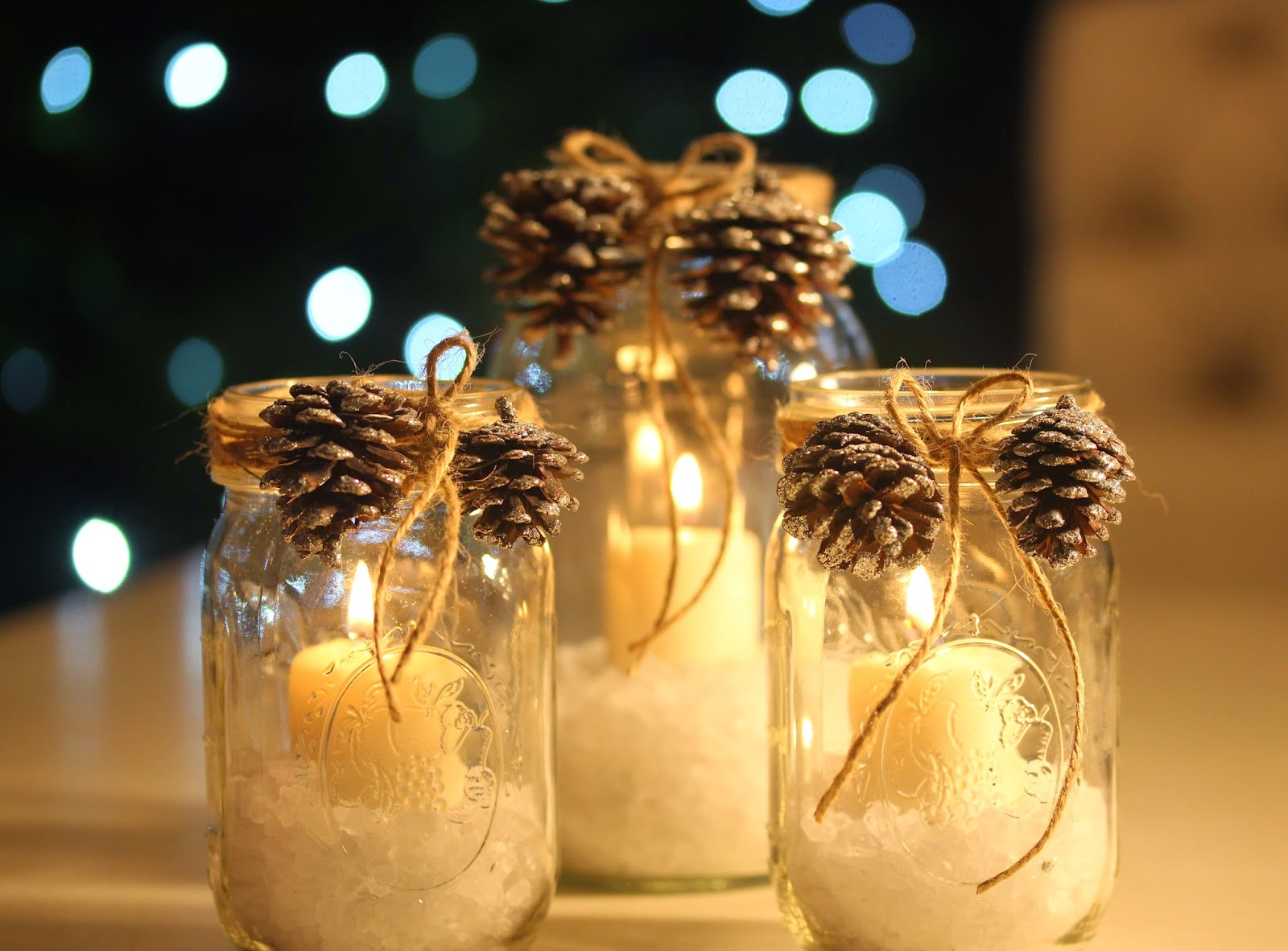 rooted in thyme christmas mason jar candles kgabara necklaces and simple sweet fridays 145. Black Bedroom Furniture Sets. Home Design Ideas