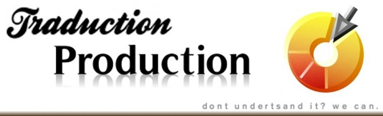 TraductionProduction