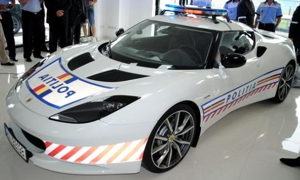 Lotus Evora S - Masina Politiei