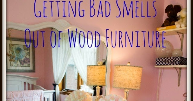 how to get smells out of wood furniture