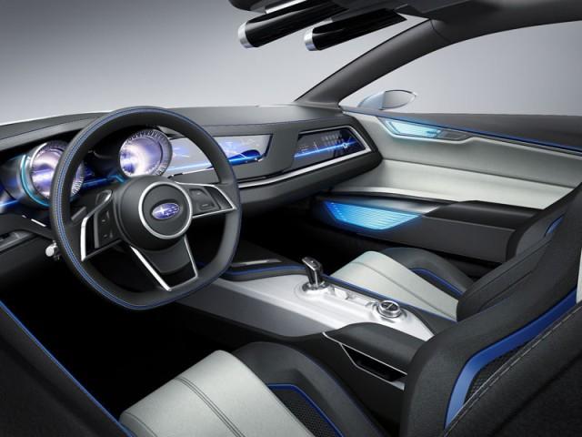 Subaru Viziv 2013 interior