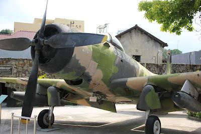 Avion bombardero A-1 Skyraider