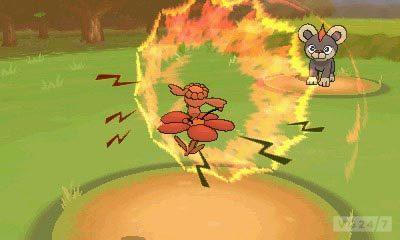 Pokémon X & Y: novos monstrinhos, trailer, imagens, personagens e o primeiro ginásio Litleo_H_lionceau_Leufeo_screenshot_2