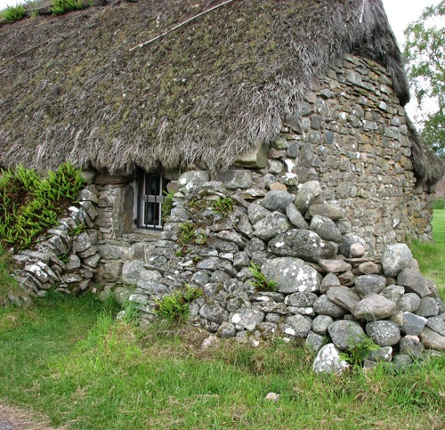 Cottage At Culloden Battlefield