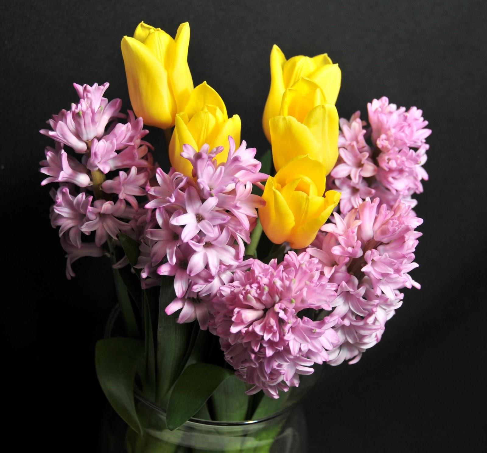 Hyacinth season is here flower talk hyacinth and tulip bouquet izmirmasajfo