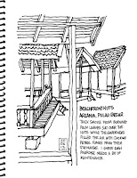Beachfront huts - Aseania Resort, Pulau Besar