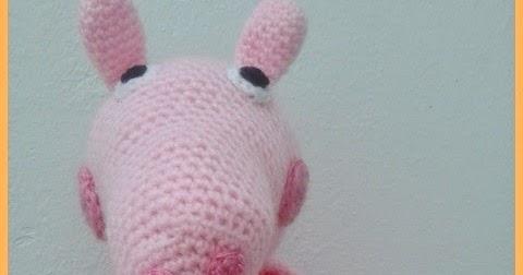 Peppa Pig Amigurumi Taller De Mao : EL TALLER DE LUZ MARIA: AMIGURUMI PEPPA PIG