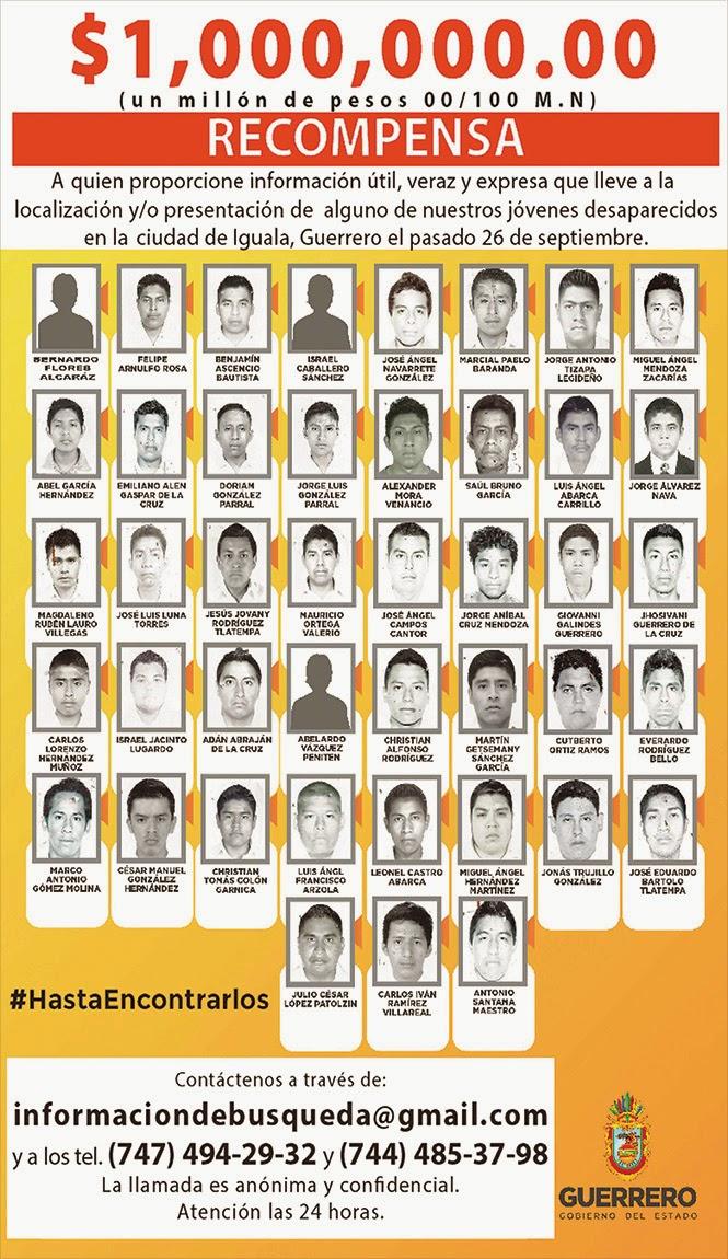 #JusticiaAyotzinapan