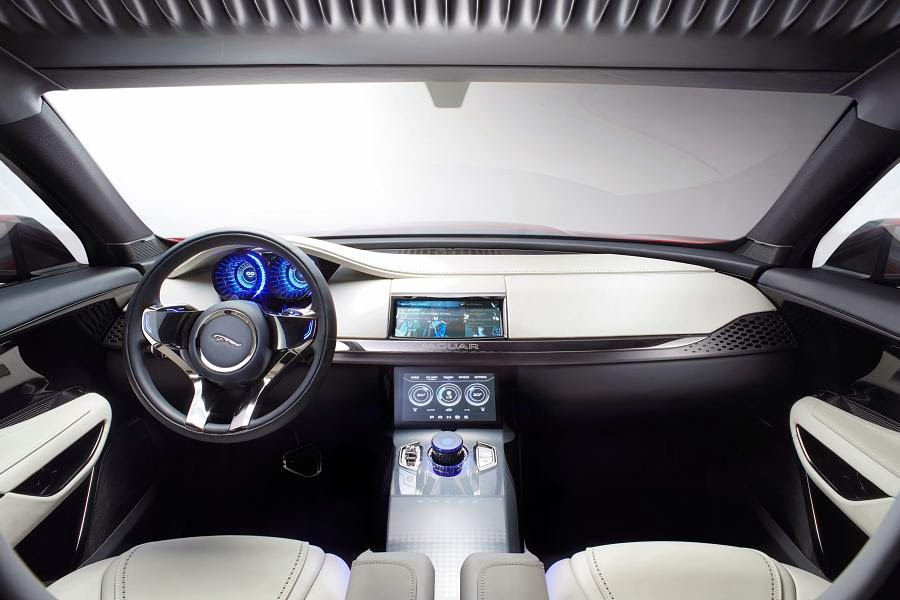 Jaguar C-X17 Sports Crossover Concept (2014) Dashboard