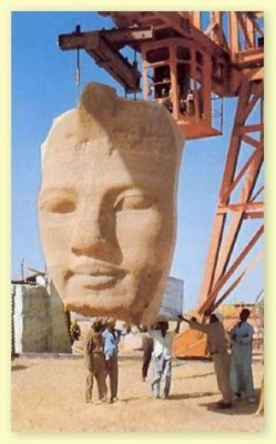 Traslado de los templos de Abu Simbel
