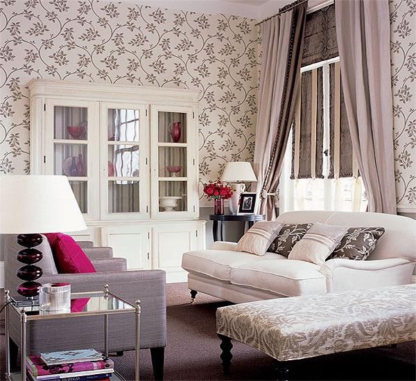 koleksi tirai cantik untuk ruang tamu rancangan desain