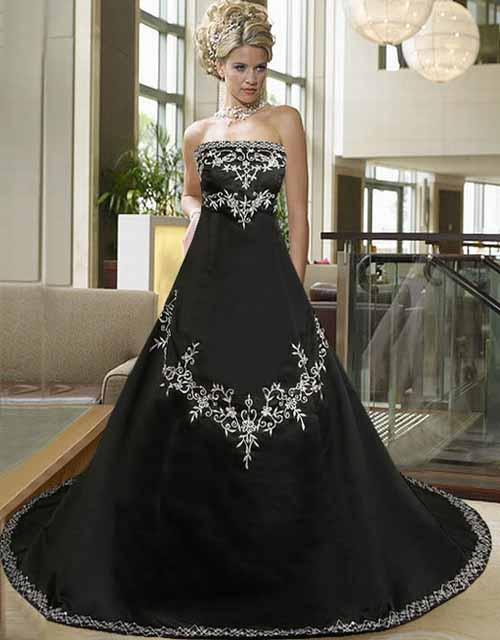Pictures of Traditional Spanish Black Wedding Dress - www.kidskunst.info