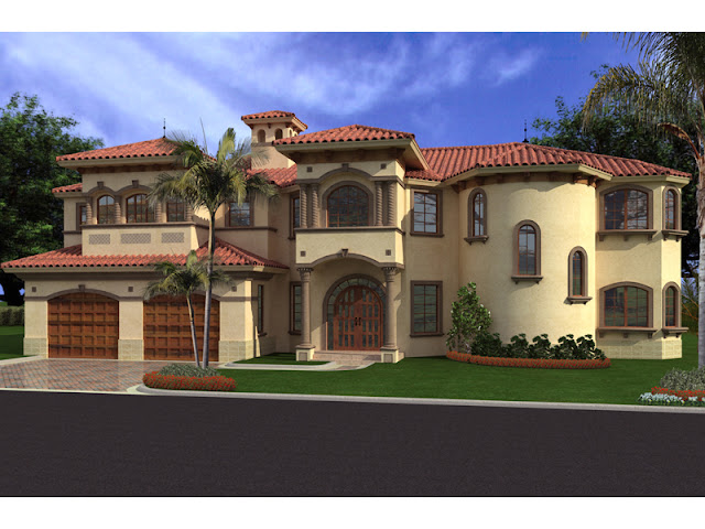 Good Mediterranean Home Designs Plans Collections