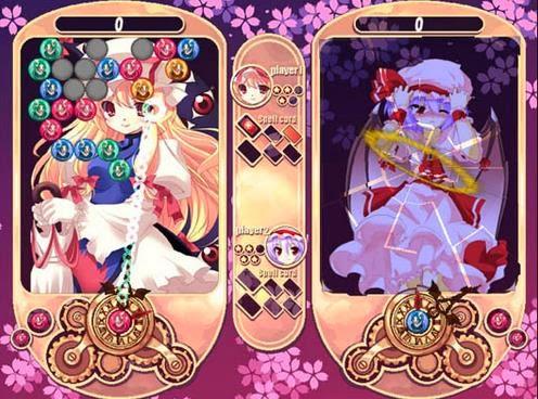 Gameplay Touhou Sahouroku