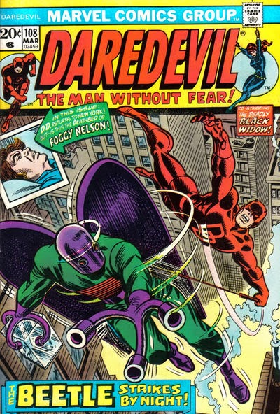 Daredevil and the Black Widow #108, The Beetle