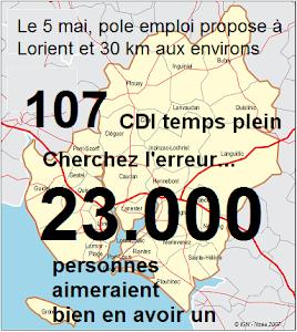 Des chiffres exclusifs : Visitez l'observatoire de l'emploi du pays de Lorient