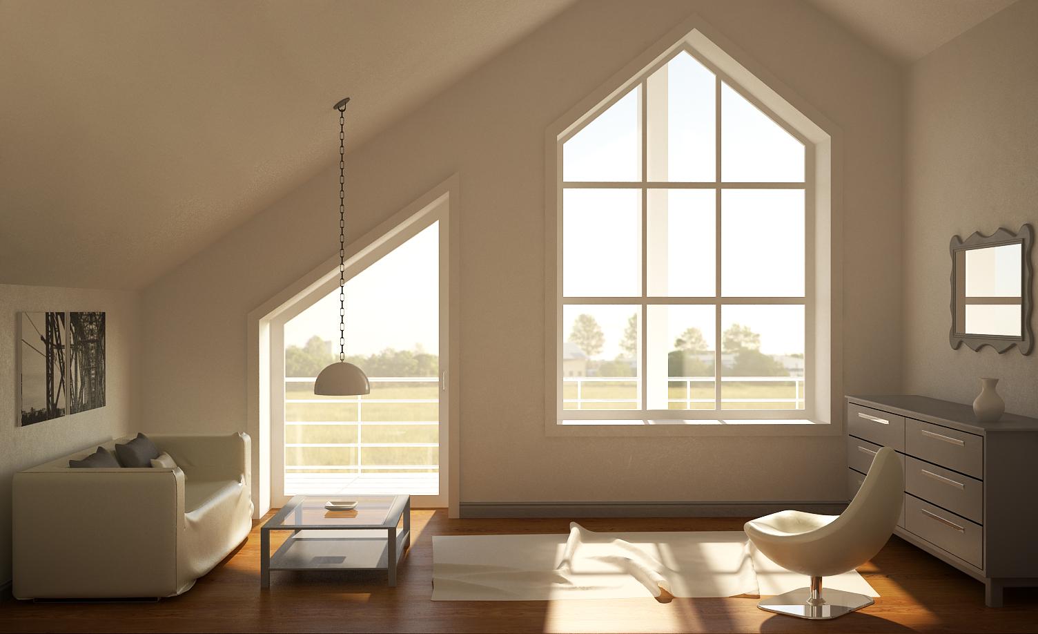 Интерьер комнаты для гостей eclectic style