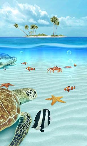 Ocean Aquarium 3D Turtle Isle 13 Apk