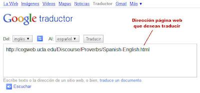 como traducir de ingles a espanol: