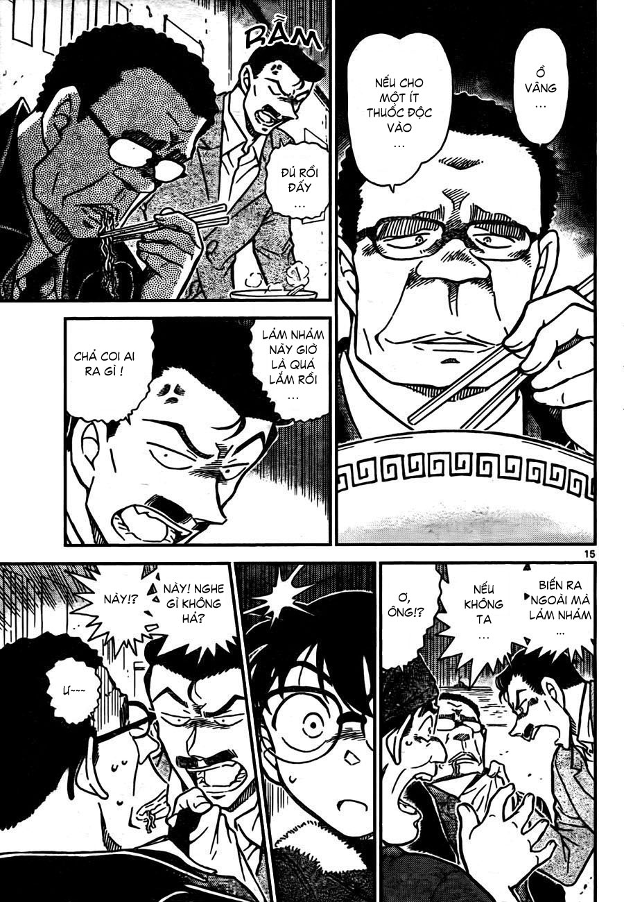Detective Conan - Thám Tử Lừng Danh Conan chap 765 page 16 - IZTruyenTranh.com