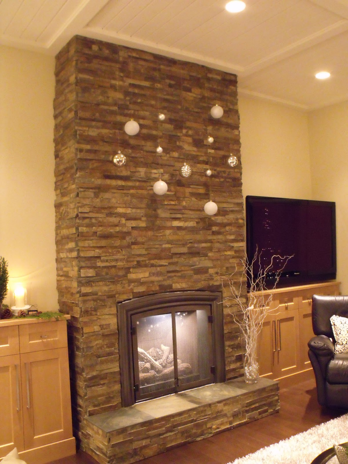 Wallpaper Feature Wall Chimney Breast Free Download