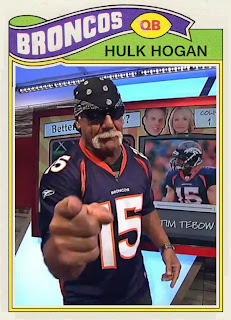 johngy's beat celeb jersey cards  hulk hogan  brooke adams, Birthday card