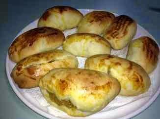 Resep membuat roti isi selai nanas