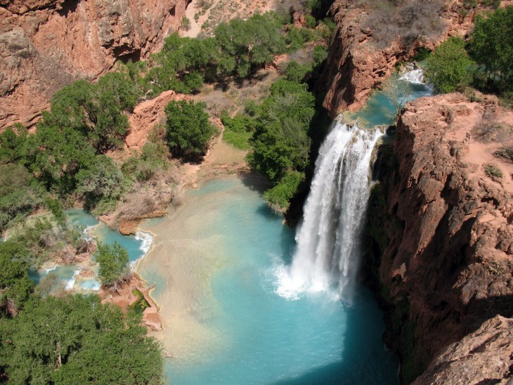how to get to havasu falls from phoenix