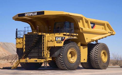 Caterpillar 797F Mining Truck - maiores caminhões de mineração do mundo