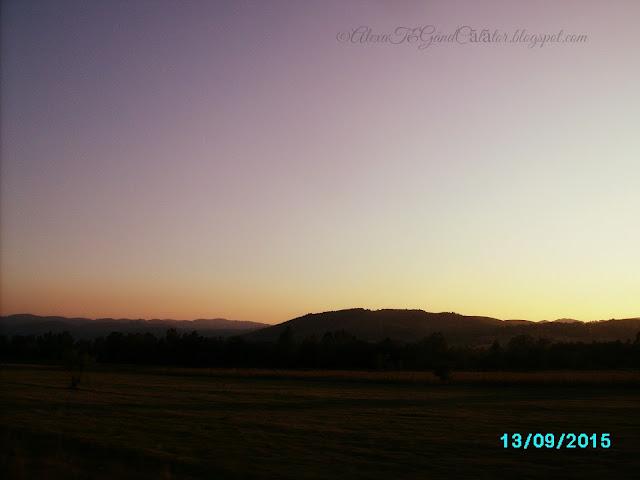 Sunset in september, 2015. Caransebeș; Caraș-Severin County, România