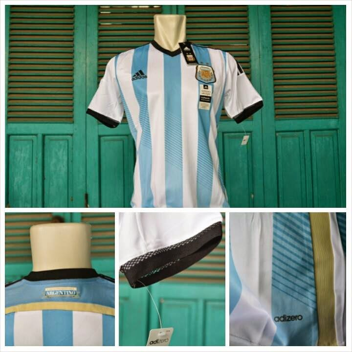 Jual Jersey Argentina Home Adizero Piala Dunia 2014
