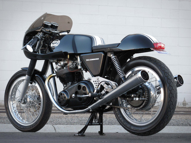 Cafe Racer 1973 Norton Commando