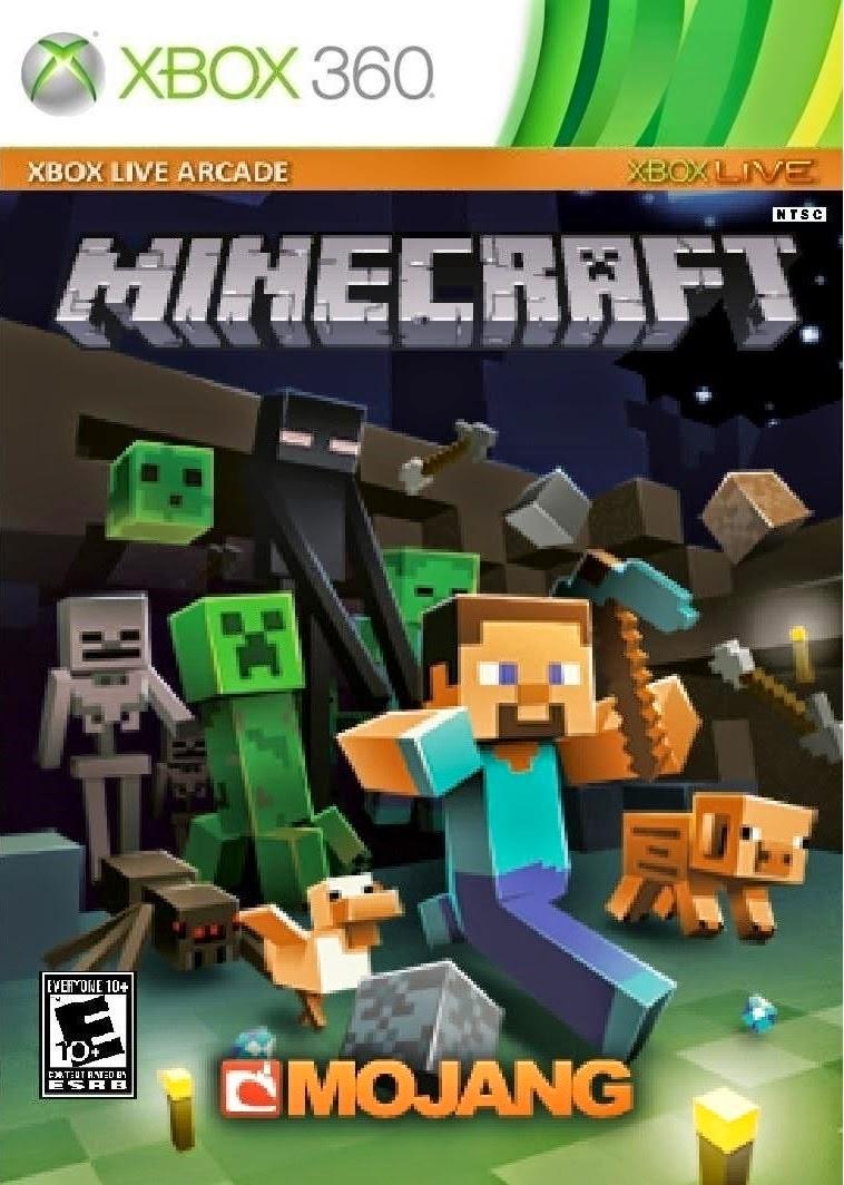 Minecraft xbox 360 edition dlc tu jtag rgh 2013 so for Mine craft for xbox
