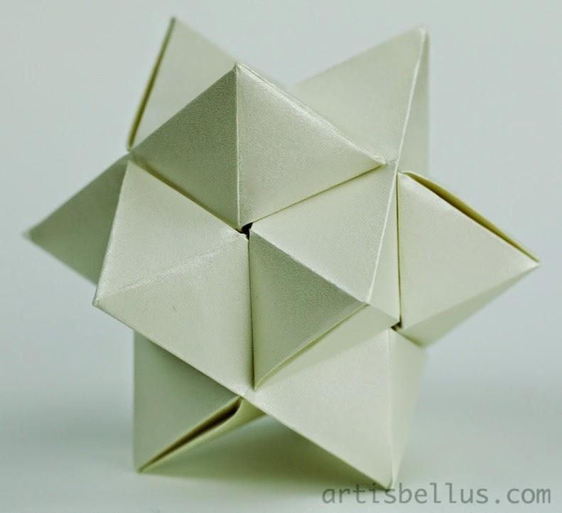 Origami Toys: Burr Puzzle