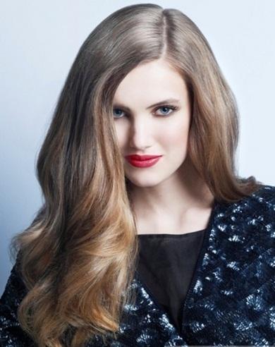 Girly Long Hair Style 2014