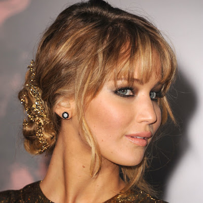 Jennifer Lawrence Oscars Hair