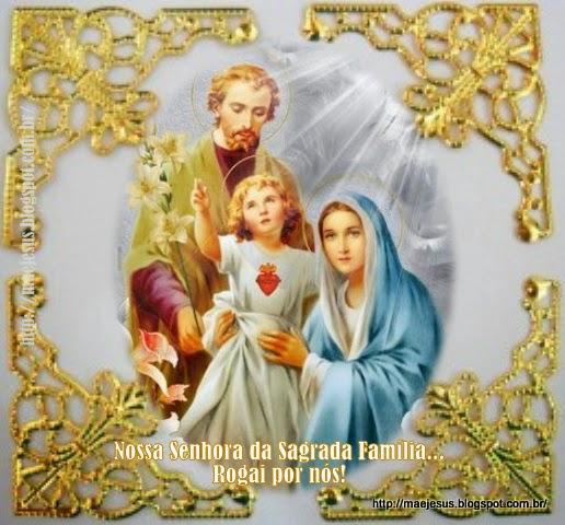 Well-known Nossa Senhora da Sagrada Família | Mãe de Jesus XB86