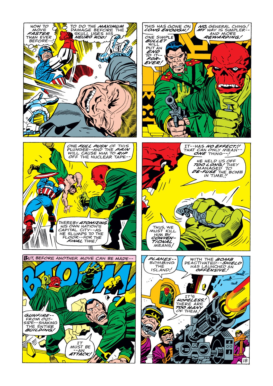 Captain America (1968) Issue #104 #18 - English 19