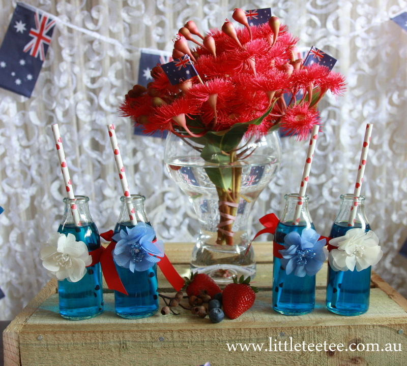 Little tee tee loves australia day morning tea for Australia day decoration ideas