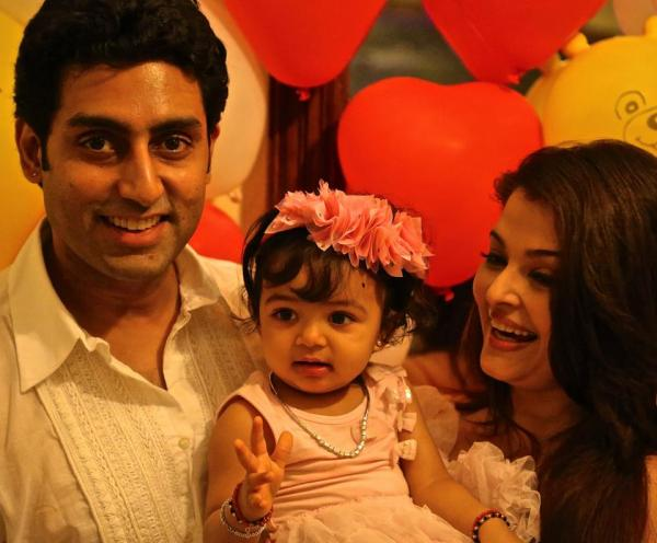 Aishwarya Rai and her daughter Aaradhya Birthday Photos