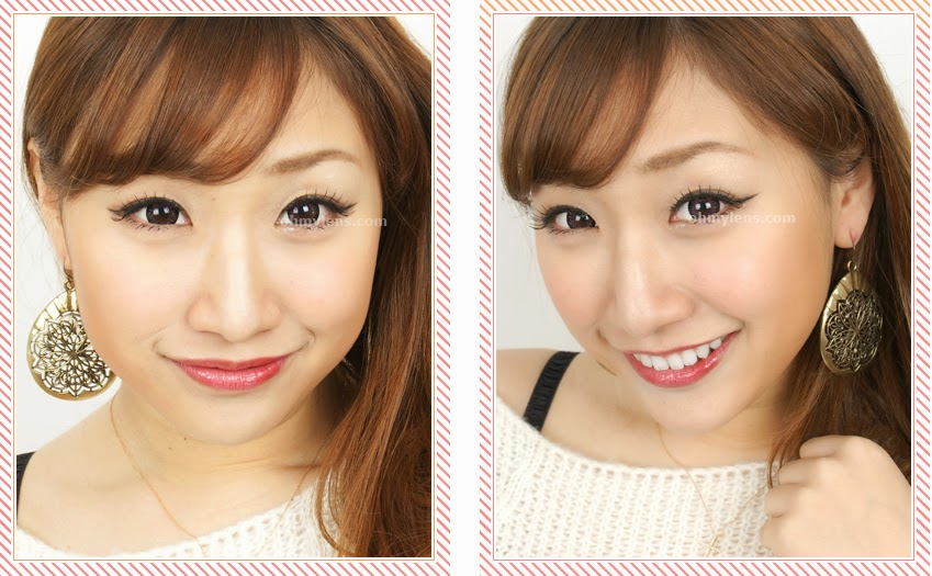 Tango Pink Contact Lenses at ohmylens.com