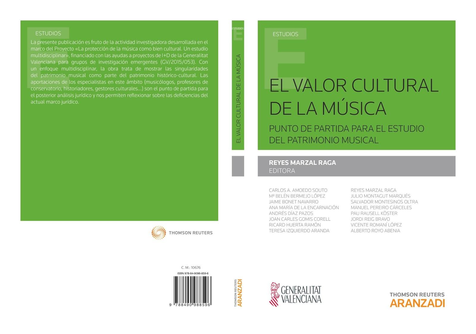 La guitarra y el repertorio olvidado. En: El valor cultural de la música. Aranzadi. 2016.