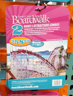 Spend a day at the Santa Cruz Beach Boardwalk