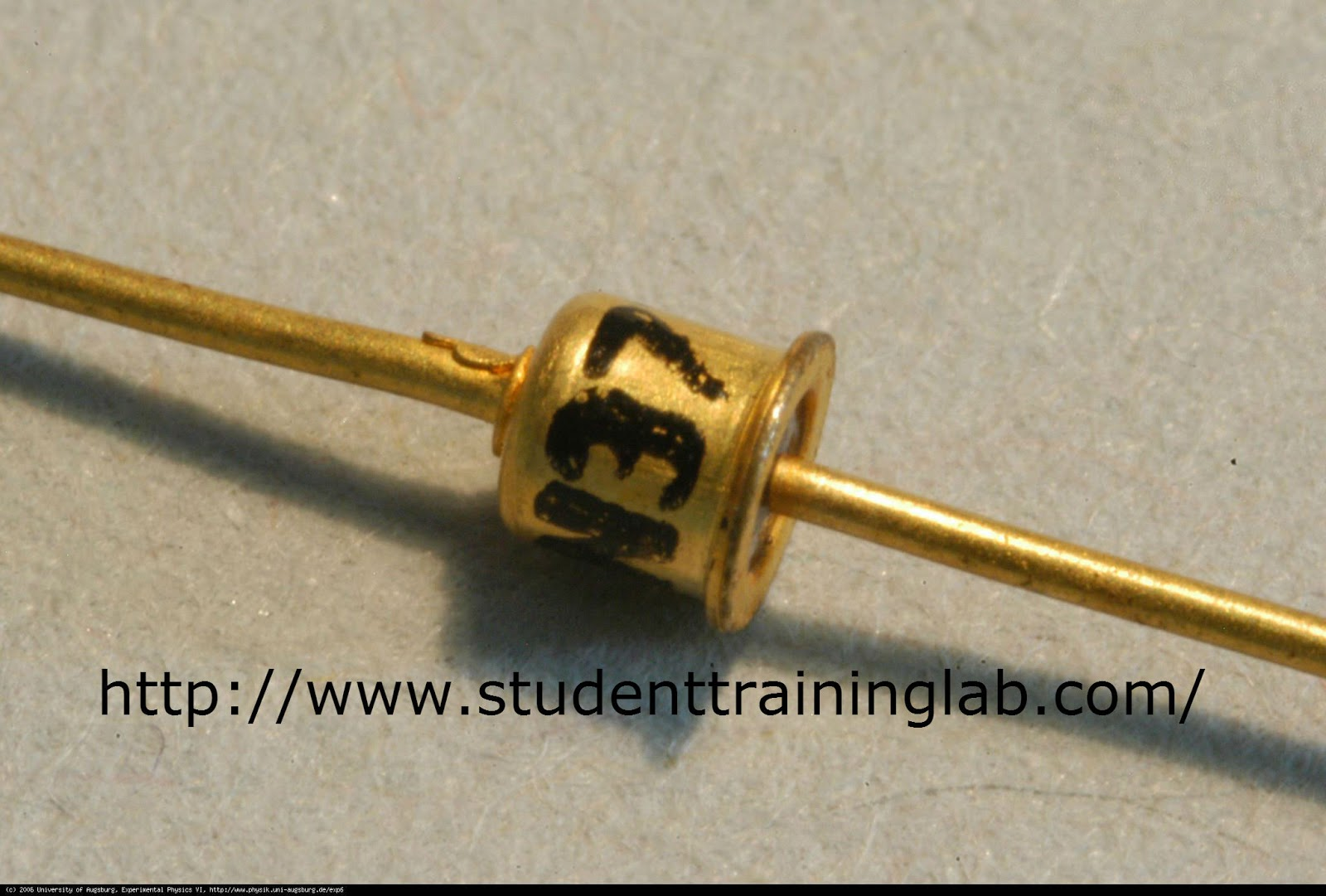 tunnel diode In semiconductor device: tunnel diode a tunnel diode consists of a single p-n junction in which both the p and n sides are heavily doped with impurities the depletion layer is very narrow (about 100 angstroms.