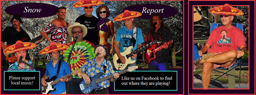 Checkout The Snow Report On Facebook Weekly For Local Music Events & Band Schedules.