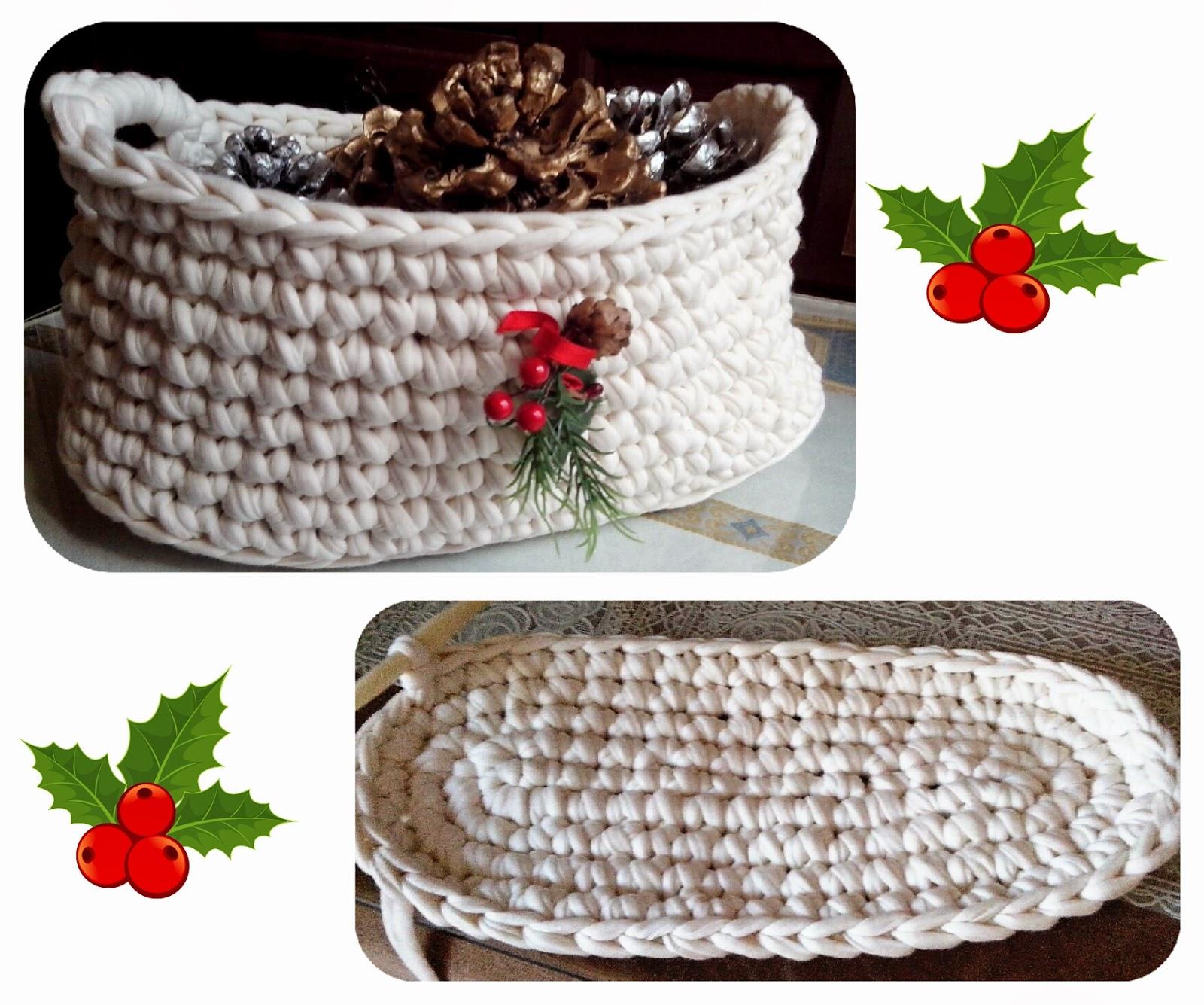 Trapillea ideas para hacer una cesta de trapillo nica - Cestas de trapillo ...