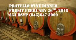 Pratello Wine Dinner